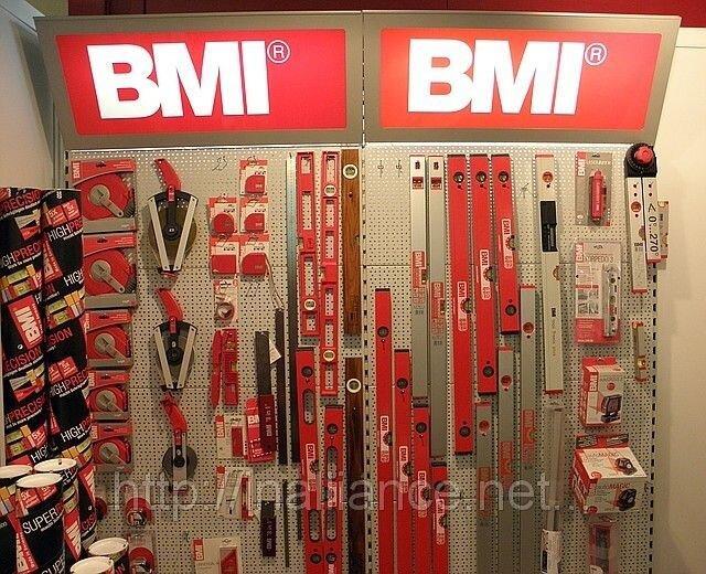 Рулетки, уровни, складные метры, лазерные уровни BMI, Made