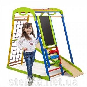 Спортивный уголок для детей Увлекательный (полный) h 1.3 m от компании SportStenka Шведская стенка, спортивный уголок с производства, Киев - фото