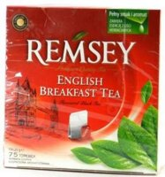 Чай черный REMSEY English Breakfast Tea 75 пакетиков Рамсей, ЕкономПлюс