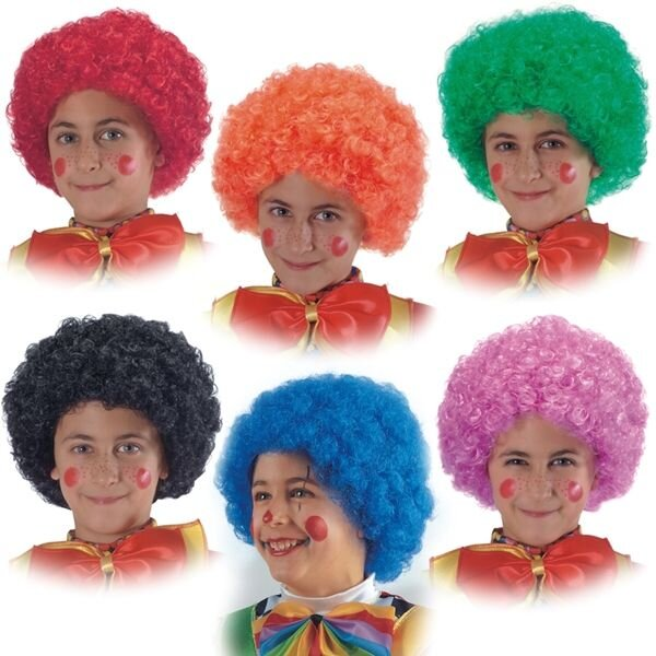 Парик клоунский своими руками