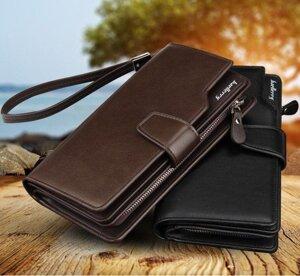 aadd9ab6ca32 Кожаный мужской клатч Baellerry Business коричневый (портмоне, кошелек  Баелери Бизнес) от компании Мегасвит
