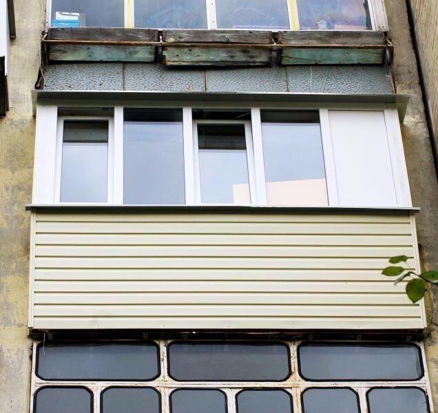 Капитальный ремонт балкона..