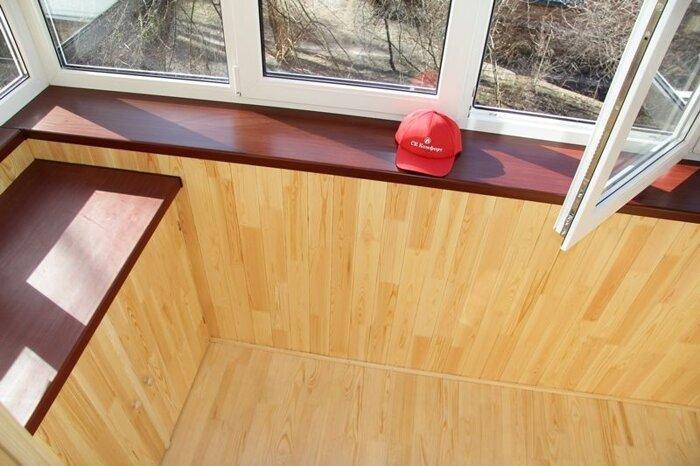 Подоконники на балкон. советы по выбору и установке киев ск .