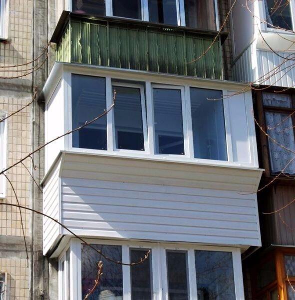 """Балкон под ключ в киеве. хороший сервис и цена """"okna-shop"""" и."""