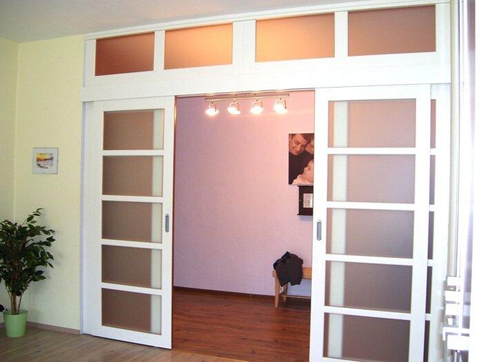Межкомнатные двойные (двупольные) двери, распашные - фото Двери раздвижные , двери распашные