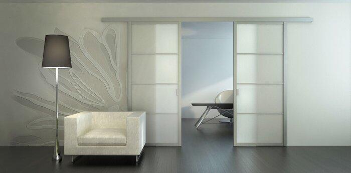 Двери в зал, гостиную