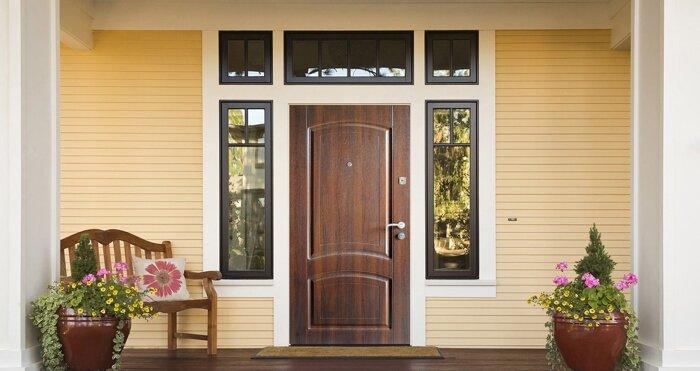 Входные двери с МДФ накладками , любых размеров