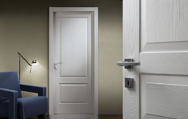 Двери белые межкомнатные , купить двери