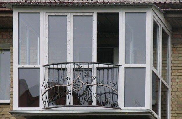 Французский балкон: Кривой Рог (цена, стоимость) - фото Ремонт балкона Кривой Рог