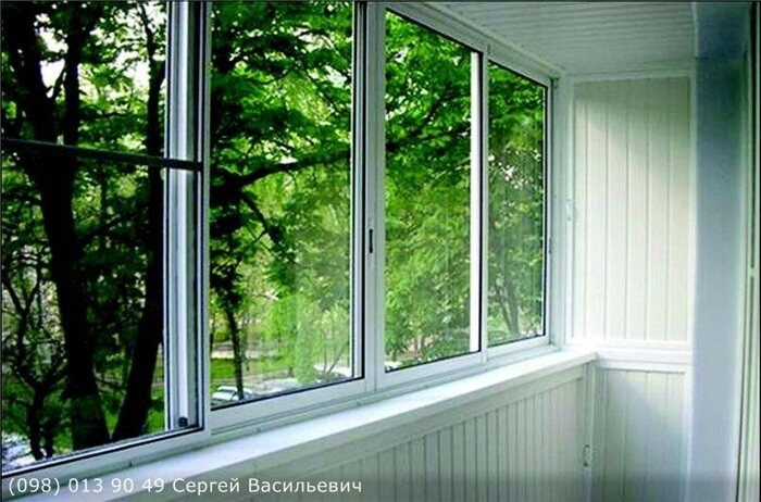 Холодное остекление балконов и лоджий, цена - окна кривой ро.
