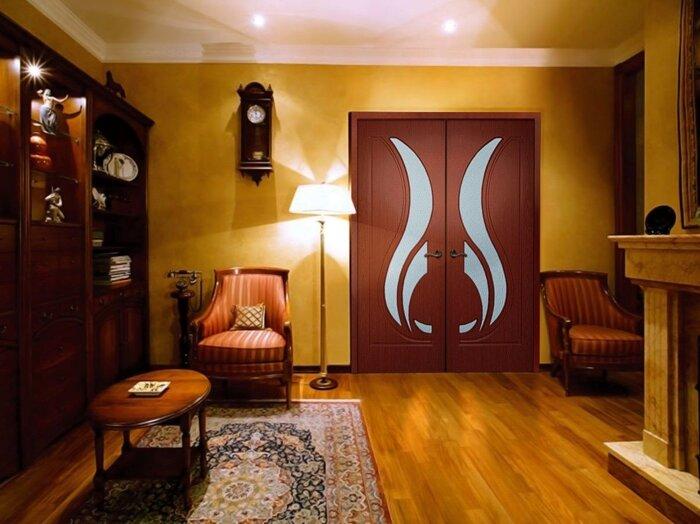 Двери в гостиную , цена