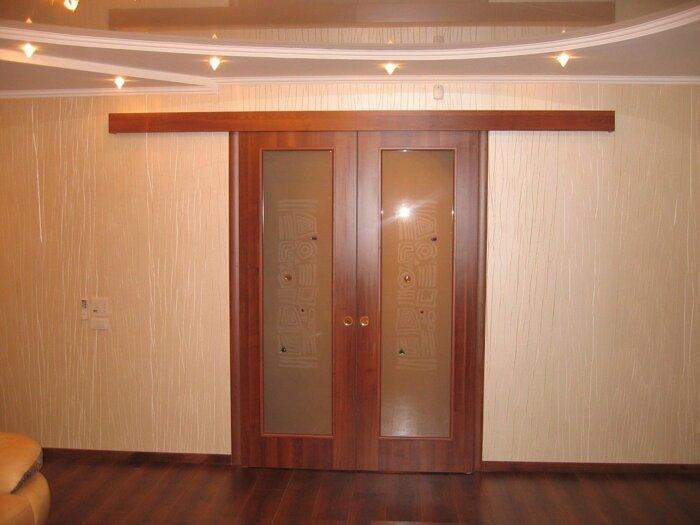 Двери в зал , двойные двери, цена на двери