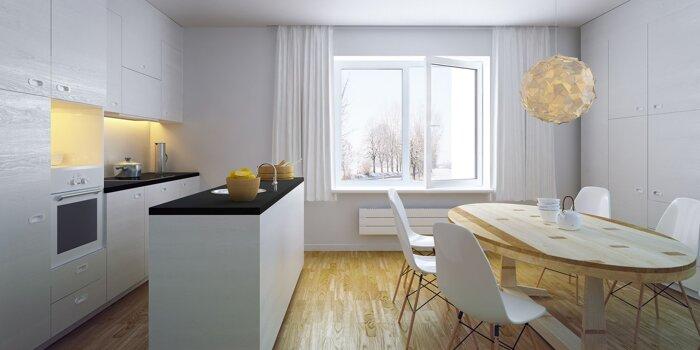 цена окна на кухню