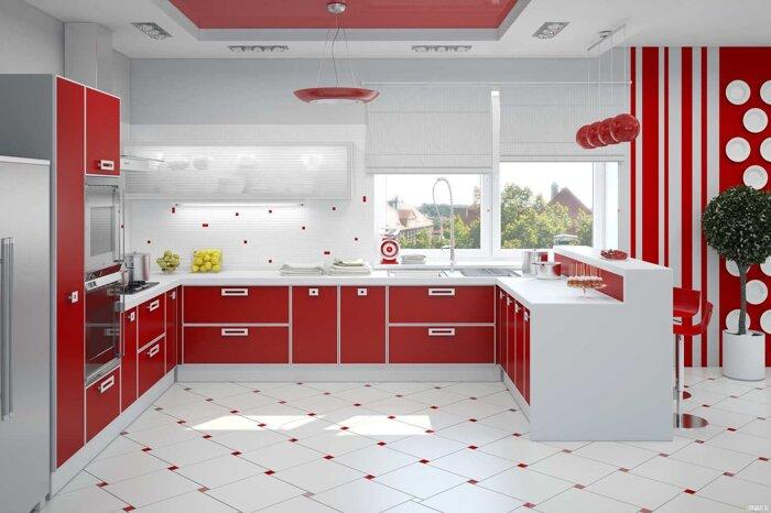 Кухни на заказ от производителя по индивидуальным размерам - фото Кухни в наличии и под заказ