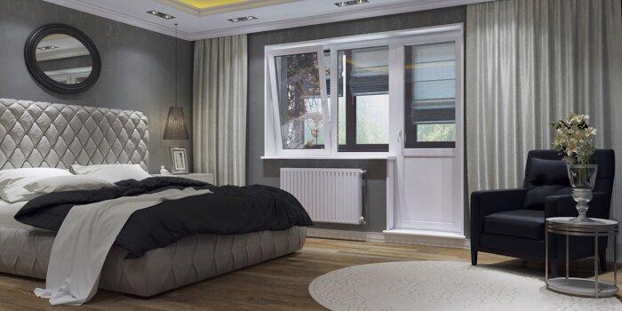 Пластиковые окна для спальни - Пластиковые окна ПВХ - фото теплое окно в спальню
