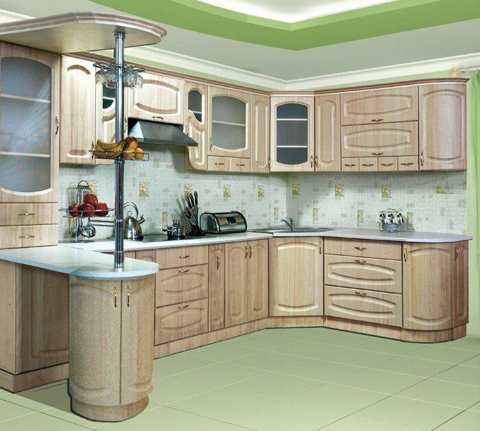 Кухни на заказ от производителя по индивидуальным размерам - фото Кухни в наличии и на заказ