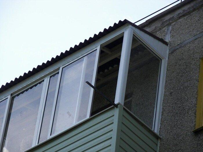 Крыша на балкон, стоимость крыши под ключ заказать в кривом .
