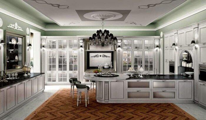 Кухни на заказ от производителя по индивидуальным размерам - фото Кухни