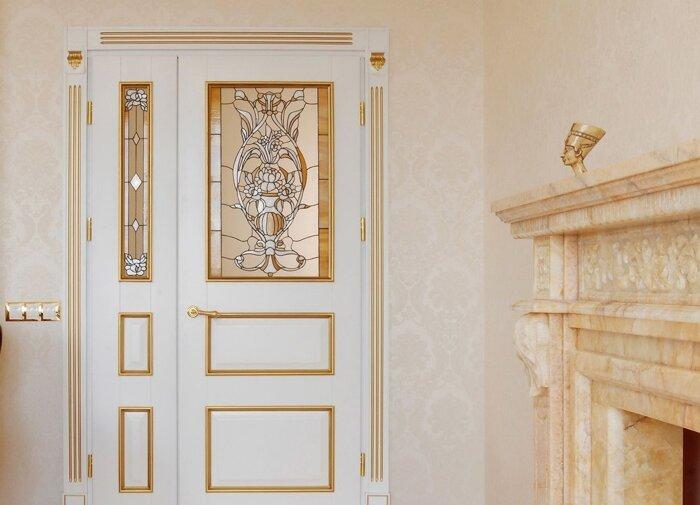 Межкомнатные двойные (двупольные) двери, распашные - фото Двухстворчатые двери Кривой Рог , двойные двери
