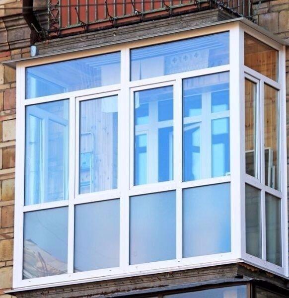 Французский балкон: Кривой Рог (цена, стоимость) - фото Балкон Кривой Рог