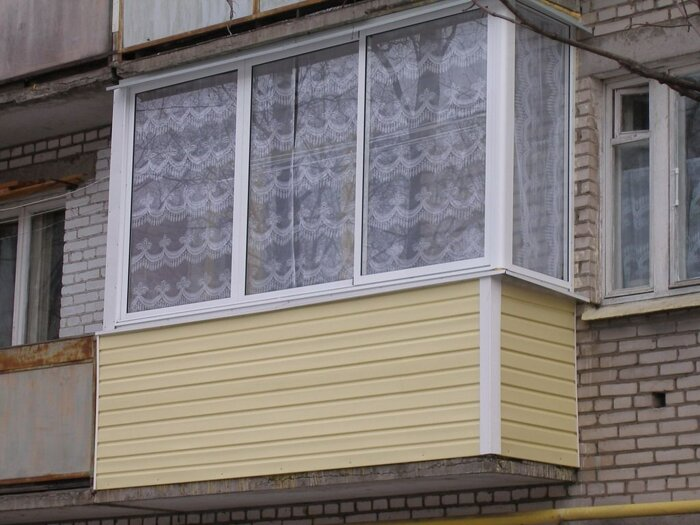 Обшить балкон , цена