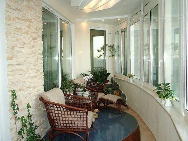 Французский балкон: Кривой Рог (цена, стоимость) - фото Ремонт балконов