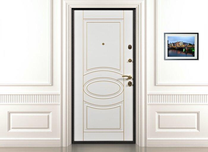 изготовить входные белые двери на заказ в москве