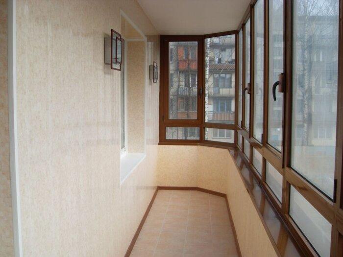 Кривой Рог: обшивка балконов (наружная и внутренняя), цена - фото Обшивка балкона