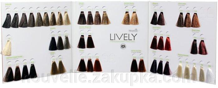 Краска для волос нувель палитра цветов на волосах