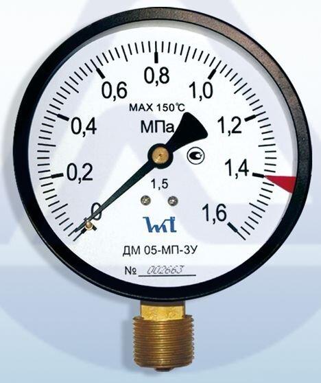 ДМ 93-100-1-М (0-6кг/см2) кл.т.1.0