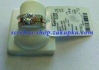 e5f024ace131 Серебряное кольцо с золотом г0225 Тройное кольцо в Киевской области от  компании Интернет магазин