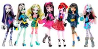 Monster high (монстер хай, школа монстров)
