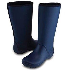 43e15d8563db Резиновые Сапоги женские Крокс реинфло бутс неви W11-28.5cm Crocs ...