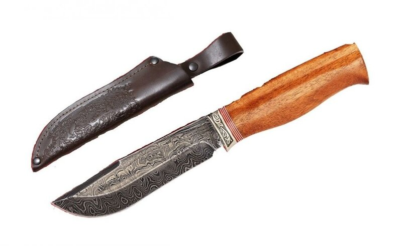 дамасские ножи для рыбалки