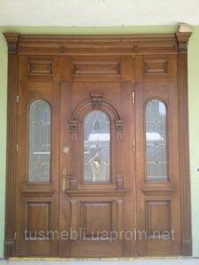 купити вхідні двері з дерева ціна від виробника в івано франківську