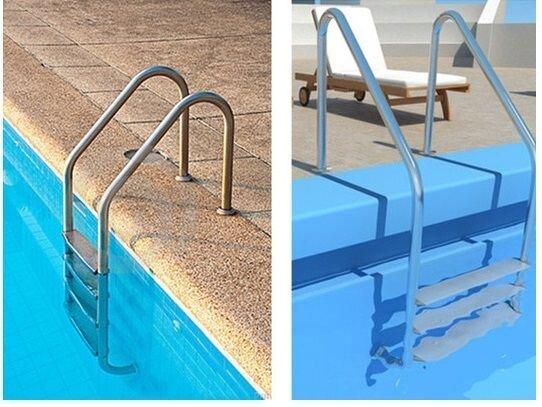 Сделать лестницу для бассейна