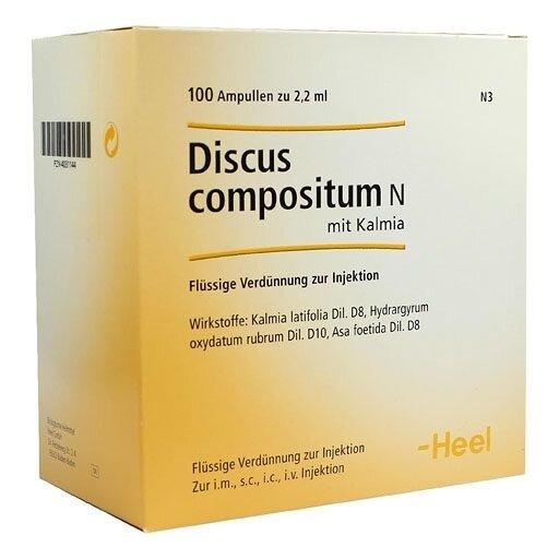 Discus compositum n mit kalmia инструкция