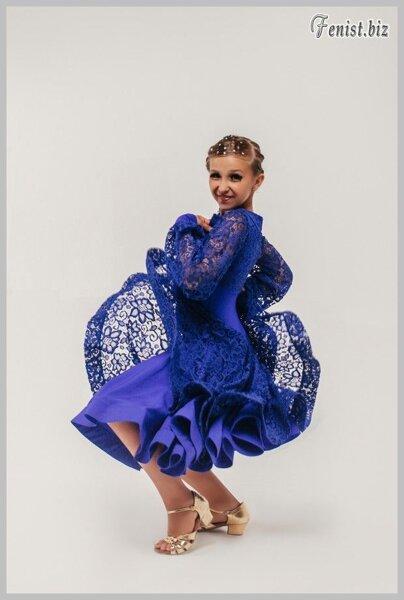 5cf9755b895ab80 Рейтинговые платья для бальных танцев с регилином «Престиж» купить в ...