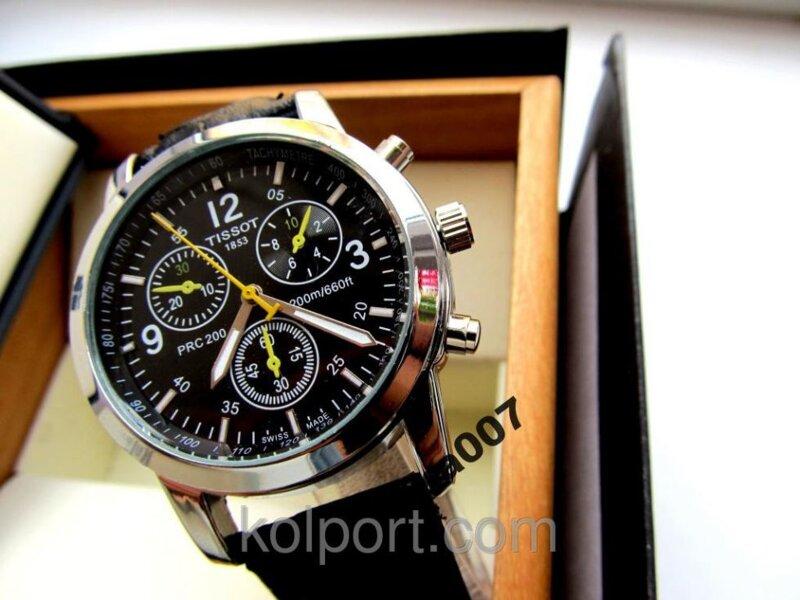 Кварцевые мужские часы Tissot PRС 200 (реплика), Киев