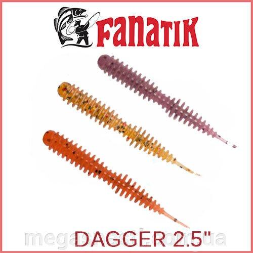 фанатик силиконовые приманки dagger 2.5