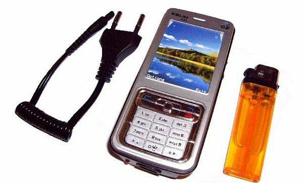 Электрошокер телефон Kelin K95 (самый маленький шокер в виде телефона) шокер-телефон + русская инструкция! - фото 1