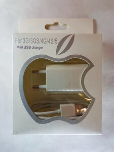 Зарядка для iPhone 3G,3GS,4G,4S iPad 2,3, iPod mini usb charger