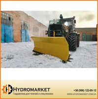 Снегоочиститель (снегоотвал) с амортизатором PVHU 230 / Snow Plow With Shock Absorption