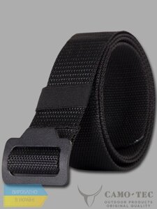 Ремінь тактичний BUCKLE STEEL Black