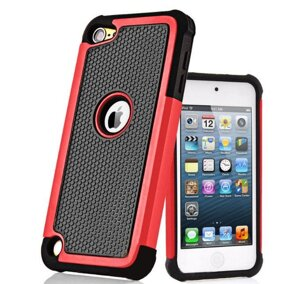 Чехол Primo Silicon Splint для Apple iPod Touch 5 / 6 / 7 - Red