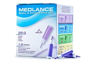 Ланцет автоматический Медланс плюс, легкий (light) MEDLANCE PLUS