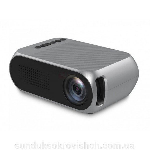 Портативный проектор Projector LED UTM YG-320 ##от компании## Сундук - ##фото## 1
