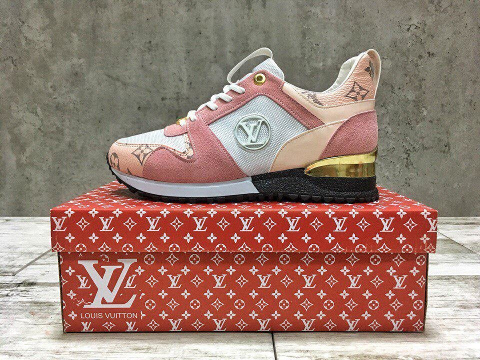 Louis Vuitton Sneaker Run Away  ,Реплика ##от компании## ИНТЕРНЕТ-МАГАЗИН «ЕВРО ВКУС» - ##фото## 1