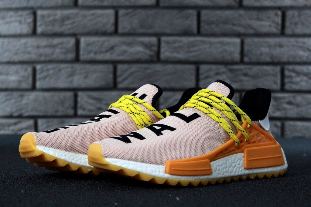 Мужские кроссовки Adidas x Pharrell Williams Human Race NMD, Реплика ##от компании## ИНТЕРНЕТ-МАГАЗИН «ЕВРО ВКУС» - ##фото## 1