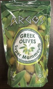 Оливки гигантские Argos Greek Olives Super Mammouth